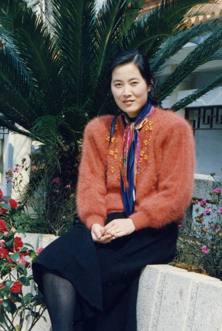 Mother of Kim Liu
